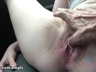 fingering You Take Niki To See Some Sights And She Can't Stop Flashing - ATKGirlfriends hairy