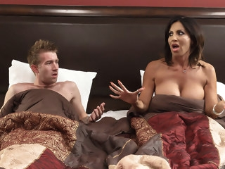 big tits Tara Holiday & Danny D in Overnight With Stepmom: Part One - Brazzers creampie