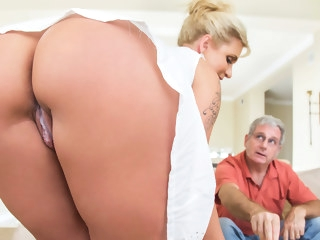 big ass Ryan Conner & Bill Bailey in Take A Seat On My Dick - Brazzers big tits