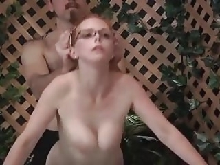 close-up Dad gives not daughter sex education WF cumshot
