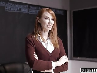 lesbian PURE TABOO Lesbian Teacher Makes Mom Spank her Brat-Daughter top rated