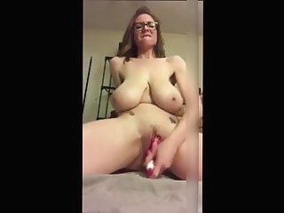 amateur Huge Saggy Tit Mom With Glasses Toys Her Cunt sex toy