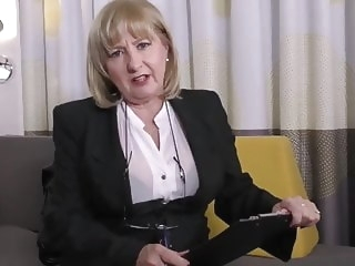 mature Cute UK Mature Slut Strips and Fucks Herself stockings