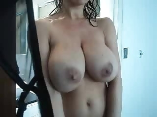 mature Watching Mommy in the Shower milf