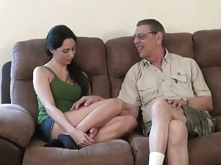 blonde Weekend at Grandpa's 3 - Part 1 blowjob